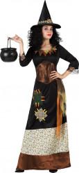 Déguisement sorcière des bois femme Halloween