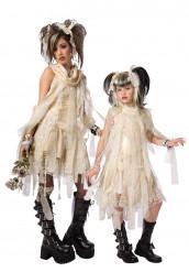 Déguisement de couple momie gothique mère fille