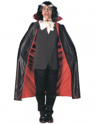 Cape satinée vampire réversible 125 cm adulte Halloween