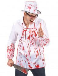 Tablier sanglant adulte Halloween