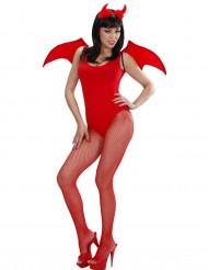 Set démon rouge Halloween