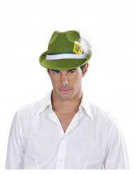 Chapeau bavarois vert adulte