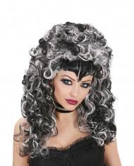 Perruque vampire bicolore femme Halloween