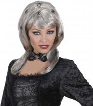 Perruque femme araignées adulte Halloween