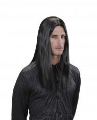 Perruque vampire noire adulte Halloween