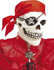 Masque intégral squelette pirate adulte Halloween