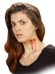 Fausse plaie morsure de vampire adulte Halloween