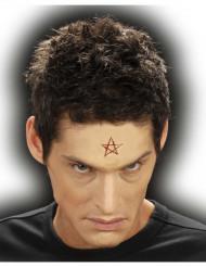 Fausse plaie pentagramme adulte Halloween