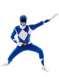 Déguisement Morphsuits™ Power Rangers™ bleu adulte
