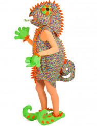Déguisement caméléon femme