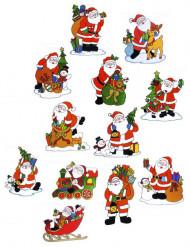 Décoration pour fenêtres Père Noël