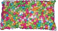 Sachet de 500 boules multicolores