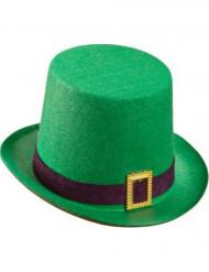 Chapeau haut de forme vert Saint Patrick