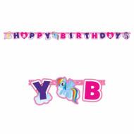 Guirlande Happy Birthday My little Pony™