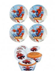 12 Mini disques azyme Spiderman™