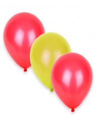 12 Ballons Supporter Espagne 27 cm