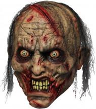 Masque adulte de zombie qui mord