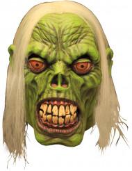 Masque de zombie vert