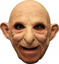 Masque 3/4 vieil homme chauve