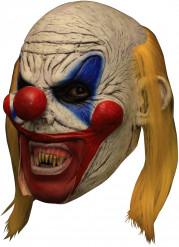 Masque 3/4 clown effrayant deluxe