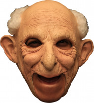 Masque 3/4 vieil homme deluxe