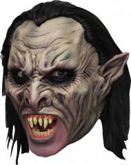 Masque 3/4 vampire deluxe avec dentier