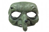 Demi-masque sorcière verte