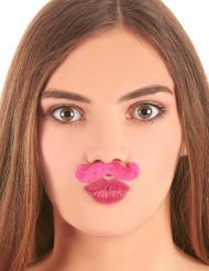 Moustache rose
