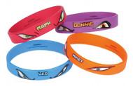 Bracelets en caoutchouc Tortues Ninja ™