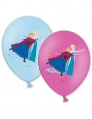 6 Ballons de baudruche La Reine des Neiges ™