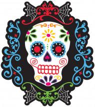 Décoration murale tête de mort mexicaine