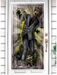 Décoration de porte Zombie