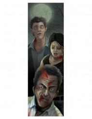 Décoration portrait de Zombies