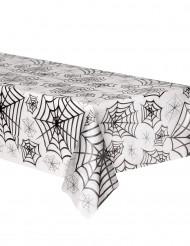 Nappe plastique transparent toiles d'araignées