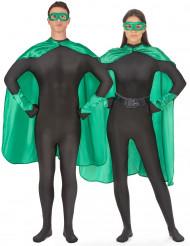 Kit super héros vert adulte