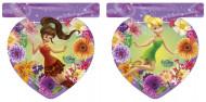 Guirlande Fanions en plastique Fée Clochette™ 230 cm