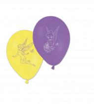 8 Ballons Imprimés Fée Clochette™