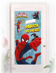 Décoration de porte Spiderman ™