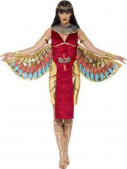 Déguisement déesse égyptienne rouge femme