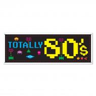 Bannière décoration Années 80's