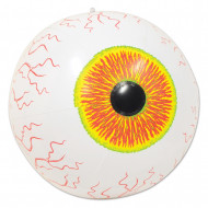Globe oculaire gonflable Halloween