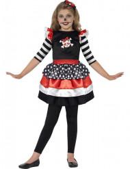 Déguisement squelette pirate fille Halloween