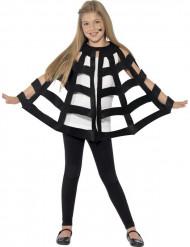 Cape araignée noire enfant Halloween