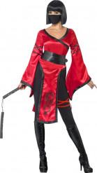 Déguisement guerrière ninja femme