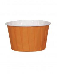 16 Coupelles Orange Halloween