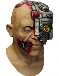 Masque intégral animé de cyborg - application smartphone