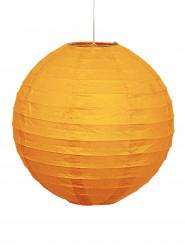 Lanterne orange citrouille en papier