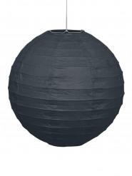 Lanterne noire en papier 25 cm