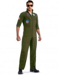 Déguisement Luxe aviateur Top Gun™ avec lunettes adulte