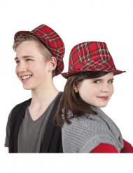 Chapeau tartan écossais enfant